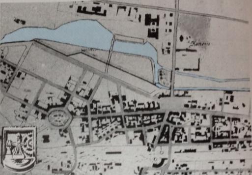 1893 Katowice map