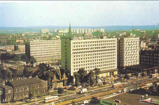 Hotel Katowice and the manor house